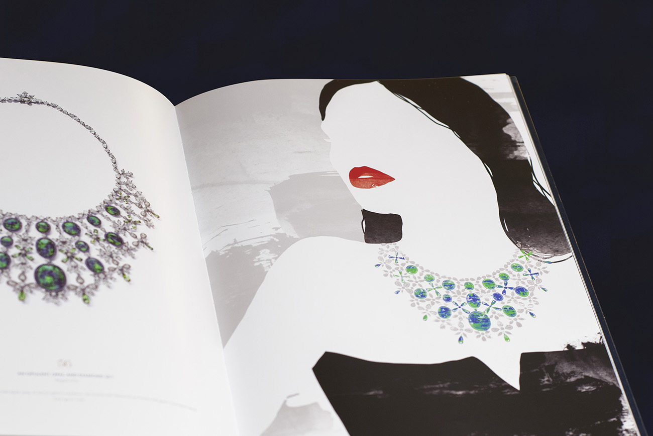 chopard joaillerie livre red carpet edition festival cannes illustration victor!paris agence communication luxe