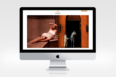 design site web selman marrakech victor paris agence communication luxe