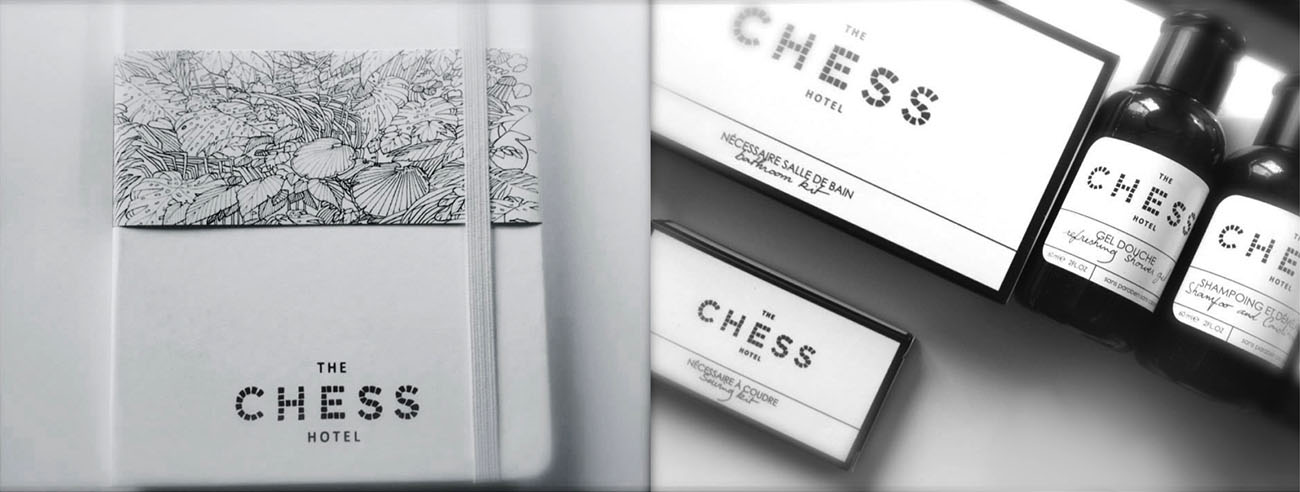 hotellerie chess hotel edition print victor paris agence communication luxe