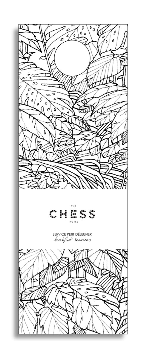 hotellerie chess hotel edition invitation opening victor paris agence communication luxe