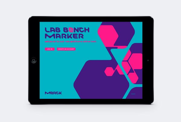 merck application ipad digital victor paris agence communication luxe